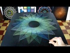 string art multiestrella por jorge de la tierra - YouTube
