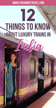 Yogawinetravel.com: 12 Things You Should Know Before Traveling on a Luxury Train Through India. India is perhaps one of the most complex, vibrant, diverse, rich and sometimes confusing destinations to travel to. If you are thinking about embarking on a luxury train journey in India aboard the Maharajas' Express, Palace on Wheels, Royal Rajasthan, Deccan Odyssey or Golden Chariot, here are a few things you should know!
