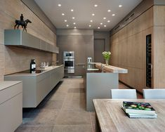 Image result for contemporary grey kitchens