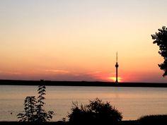 Techirghiol sunset Romania, Celestial, Sunset, World, Outdoor, Sunsets, The World, Outdoors, Outdoor Games