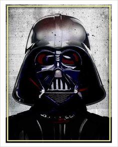 Star Wars Darth Vader Print - 8x10 print - Star Wars character print
