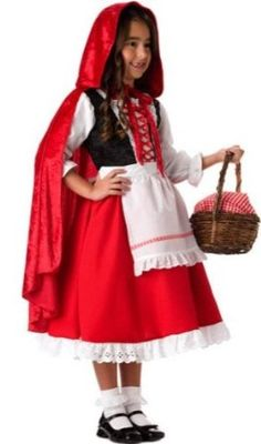 InCharacter Girls Little Red Riding Hood Costume