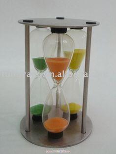 Egg timer, Tea timer, Metal sand timer, Stainless steel sand timer