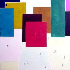 "Saatchi Art Artist Luis Medina; Painting, ""Extraños II"" #art"