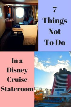 Disney Cruise Tips. What you absolutely must not do in your Disney Cruise stateroom.