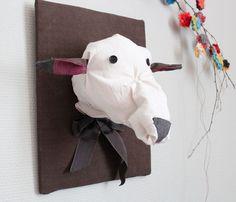 Trophée mouton