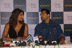 Bipasha Basu & Karan Singh Grover,at the Springfit Mattresses'autograph collection launch