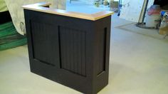 Hostess Stand---the body.  Utilize the wood we have and have Bobby build a hostess stand.