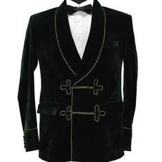 Wedding Suit Styles, Wedding Suits, Smoking Jacket, Satin, Costume, Blazer, Suit Fashion, Bleu Marine, Party Wear