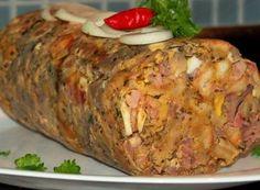Slovak Recipes, Meatloaf, Preserves, Baked Potato, Ham, Food And Drink, Appetizers, Turkey, Homemade