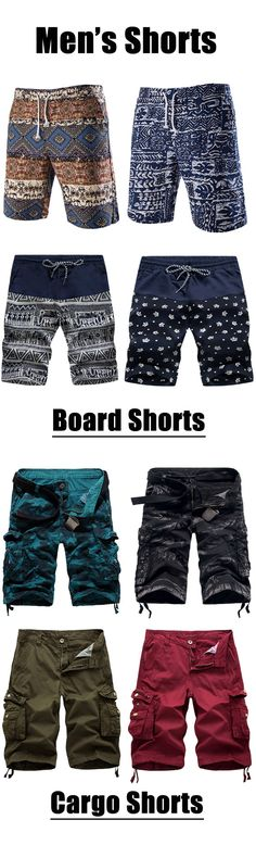 Mens Shorts - Competitive Cargo, Casual & Board Shorts For Men Casual Jeans, Casual Outfits, Gothic Jackets, Boy Fashion, Mens Fashion, Gothic Tops, African Men, Dressed To Kill, Style