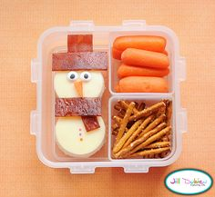 Christmas bento lunches :)