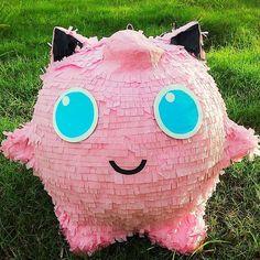 Pokemon Jigglypuff Pinata  #Handmade #BirthdayChild