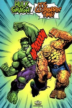 The Hulk (Bruce Banner) & The Thing (Ben Grimm)