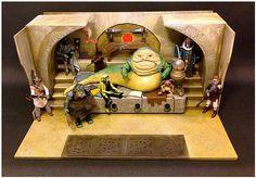 Jabba Palace GATE CUSTOM Star Wars Photo Fond d/'écran Hasbro Kenner Figures