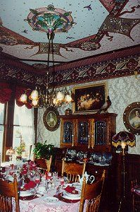 Abigail's Elegant Victorian Mansion -- Northern California Historic Lodging Accommodations