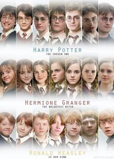 Harry Potter Cast...You have to admit they're pretty Cute!!