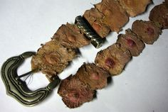 Belt made of the nipples of Ed Gein's victims