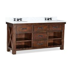 http://www.potterybarn.com/products/benchwright-double-sink-console/?pkey=cdouble-sink-consoles