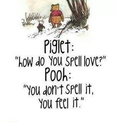 love by pooh