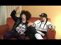 While Redfoo and SkyBlu (LMFAO) were touring with the Black Eyed Peas, I got a chance to talk to them. They are extremely funny and always entertaining. We talked about everything from will i. am's video game skills to shooting videos to Jersey Shore to Weekend at Bernie's to how they got their name. This is the full interview with very little editing done. ENJOY!