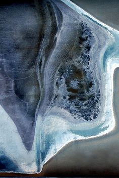 "LuAnn Ostergaard.  ""manta ray""  abstract LuAnnOstergaard.com"