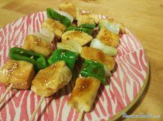 Brochetas de pollo en salsa teriyaki #RecetasGratis #RecetasFáciles #RecetasdeCocina #Pollo #ChickenLovers #Brochetas