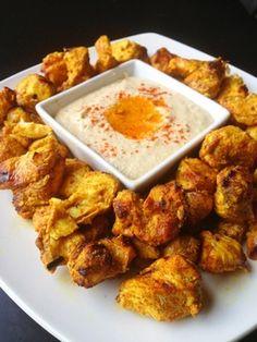 Chicken Shawarma | Paleo Recipes | Paleo Cupboard - Paleo Cupboard. Such a good recipe! The zucchini hummus is a fabulous companion too.