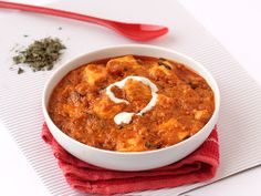 Paneer Butter Masala - Cottage Cheese in spicy Gravy with Butter