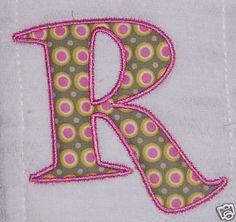 Free Embroidery Applique Designs | How to Applique