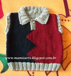 Crochet et Tricot da Mamis Baby Jumper, Baby Sweaters, Baby Knitting, Baby Blue, Lana, Diy And Crafts, Knit Crochet, Winter Hats, Pattern