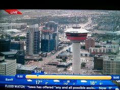 Calgary Floods Flood Watch, Kindness Of Strangers, Unsung Hero, Banff, Calgary, Cn Tower, Seattle Skyline, Nostalgia, Canada
