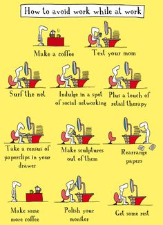 How to avoid writing....