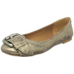 Fossil Women's Maddox Leather Flat