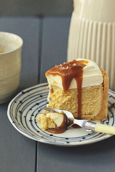 Salted Caramel Cheesecake | Milk and Honey Blogspot