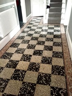 For this job, I paid a visit to the bustling town of Windermere in South Cumbria. My client asked me to refinish a black and white Terrazzo tiled entrance and hallway floor. Terrazzo if you're not … Hallway Flooring, Granite Flooring, Terrazzo Flooring, Drawing Room, Floor Design, Restaurant Design, Home Renovation, Windermere, Tile Floor