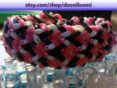 Pink Black White Beaded Thick Weave Braid Rainbow by DooniLoomi코리아카지노코리아카지노코리아카지노코리아카지노코리아카지노코리아카지노코리아카지노코리아카지노코리아카지노코리아카지노