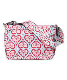 Look at this Ju-Ju-Be Sweet Hearts Messenger Diaper Bag on #zulily today!