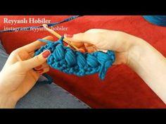 Örgü Çanta - Fıstık Modeli Yapımı - YouTube