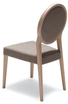 Mobilier de restaurant chaise médaillon - Sledge
