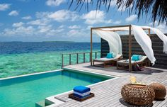 Ultimate Relaxation in the Divine Dusit Thani Resort, Maldives