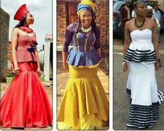 African Dresses For Women, African Print Dresses, African Attire, African Wear, African Fashion Dresses, African Women, South African Traditional Dresses, African Traditional Wedding, South African Fashion