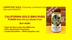 You have to try the California Gold BBQ Rub - Love Love Love it http://www.amazon.com/gp/product/B00CVCMR88 #Recipe #BBQRUB