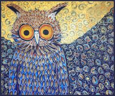 Owl by day Owl by night. by WillowOak