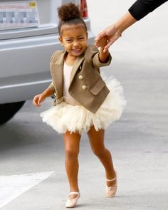 38 times North West dressed better than you. See the toddler's best style so far here: