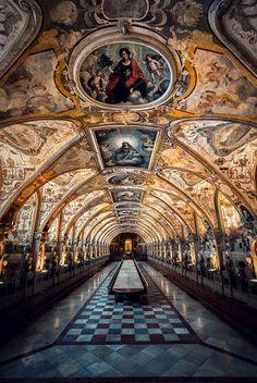 Beautiful Places...Residenz Munchen (Munich Palace), Germany, photo by Jared Lim via Fivehundredpx.