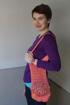 WORK+SHELTER Market Bag - Knitting Patterns and Crochet Patterns from KnitPicks.com