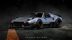 ArtStation - Ferrari 308| Roughed Up, Khyzyl Saleem