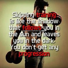 . Skipping training  is like the shadow that follows you in  the sun and leaves  you in the dark.  You don't get any  progression. . #IAmOnThePictures #IAmInTheVideos . #Aesthetic #Aesthetics #AestheticAthlete #AestheticFitness . #BodyWeight #BodyweightAthlete #BodyweightFitness . #Fitness #FitnessModel #FitnessAthlete #FitSpo #FitnessAddict #FitnessMotivation #FitnessQuotes #MotivationQuotes #Quotes #Disney . #Calisthenics #CalisthenicsAthlete . Fitness Motivation Quotes, Calisthenics, Body Weight, Fitspo, The Darkest, Athlete, Motivational Quotes, Fitness Models, Aesthetics