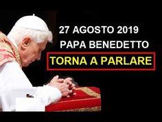 ATTENZIONE - Papa Benedetto torna a parlare. 27/08/2019 - YouTube Bento, Youtube, Bento Box